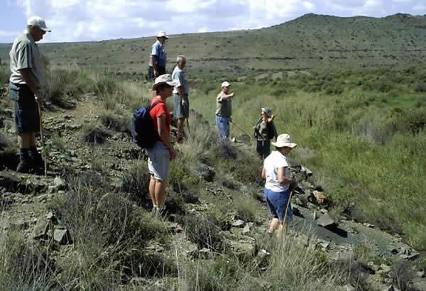 Fossil Walk - Ganora Guestfarm Nieu Betheda