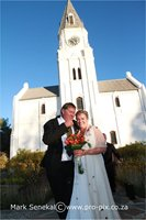 Wedding at Church Nieu Bethesda