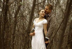 Wedding Couple photo at Ganora Guestfarm Nieu Bethesda