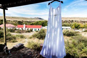 Wedding Dress at Ganora Guestfarm Nieu Bethesda