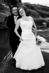 Wedding Couple at Ganora Nieu Bethesda