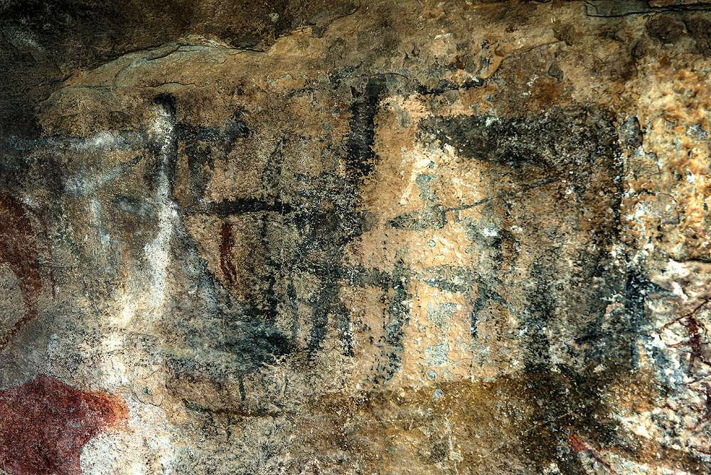 Bushman Painting in Cave