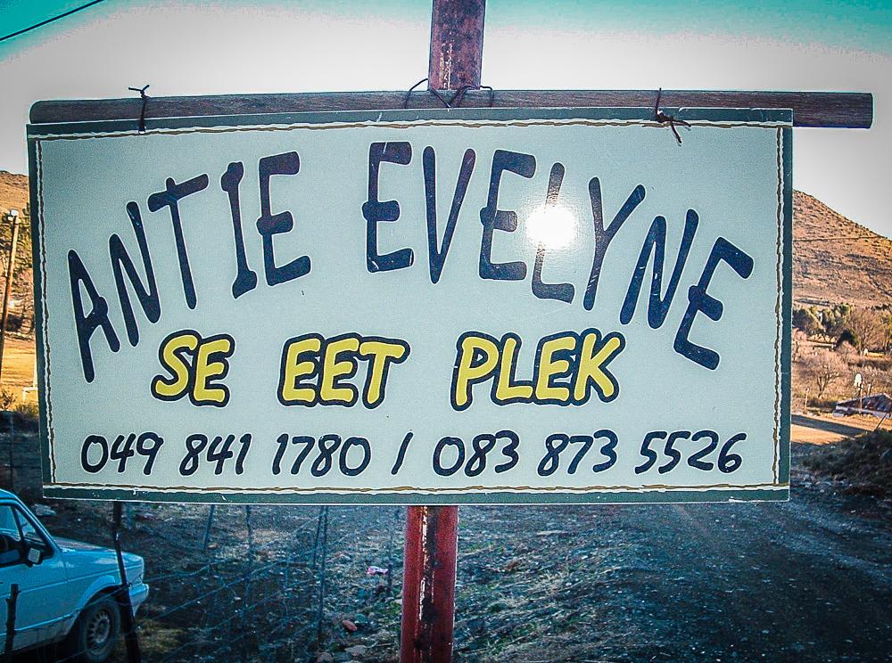 Auntie Evelyne se Eet Plek