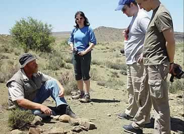 Ganora fossil walk