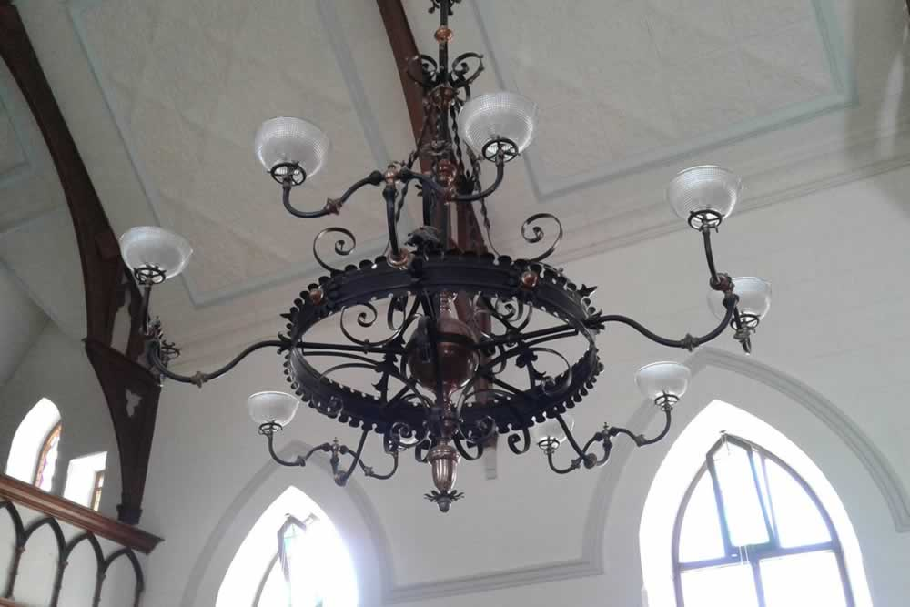 Nieu Bethesda Church Chandelier