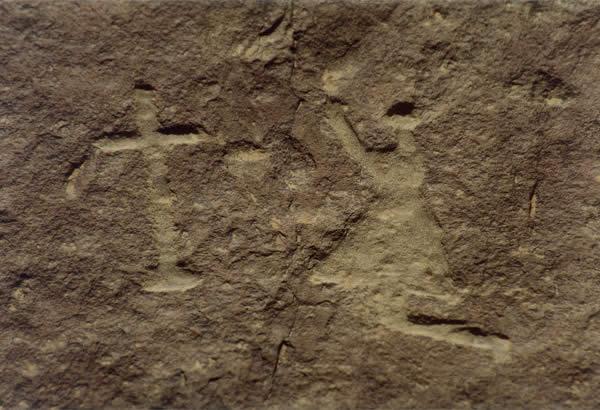 Anglo-Boer War Rock Art, Ganora Guestfarm, Nieu Bethesda