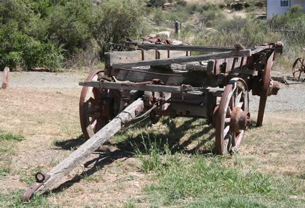 Ox Wagon, Ganora Guestfarm, Nieu Bethesda