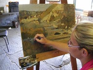 Art Course at Ganora Guestfarm, Nieu Bethesda