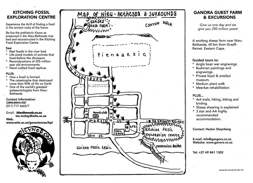 Fossil Safari Ganora Guestfarm, Nieu Bethesda