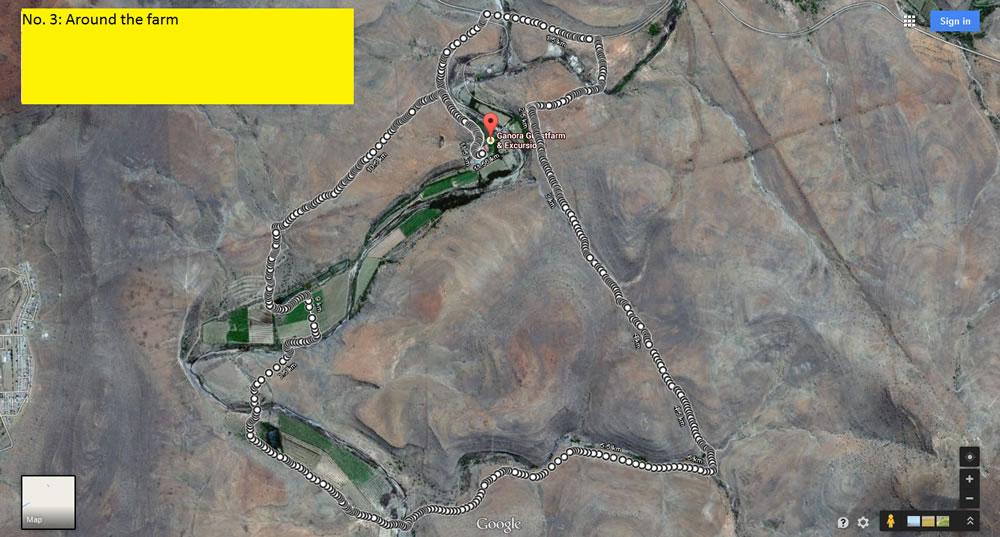 Mountain Bike Trail at Ganora Guestfarm
