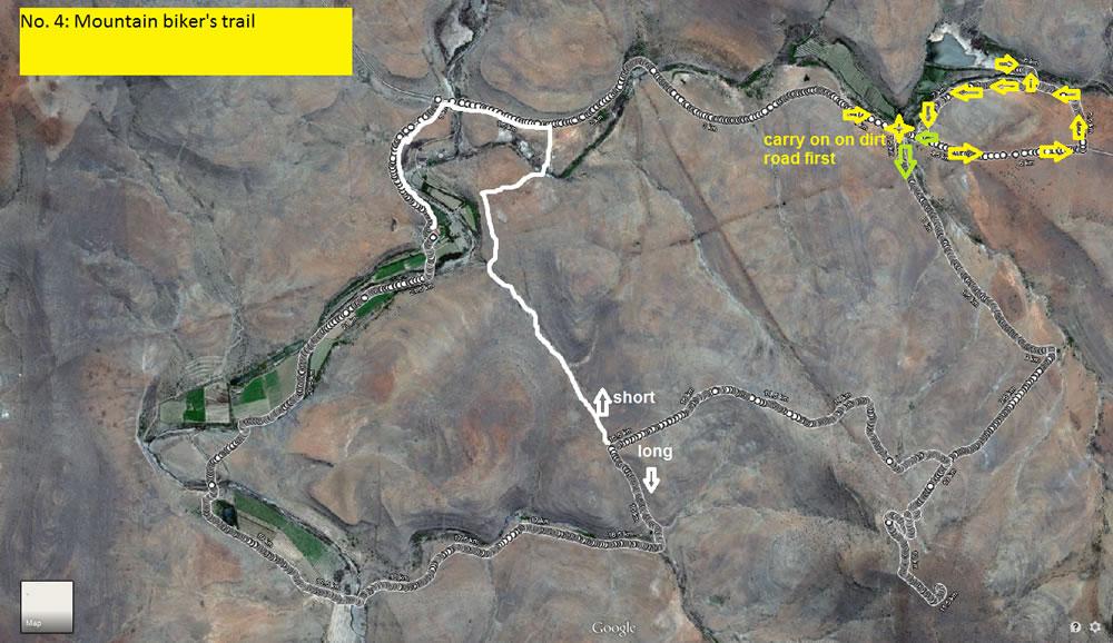 Mountain Bike Trail 2 Map