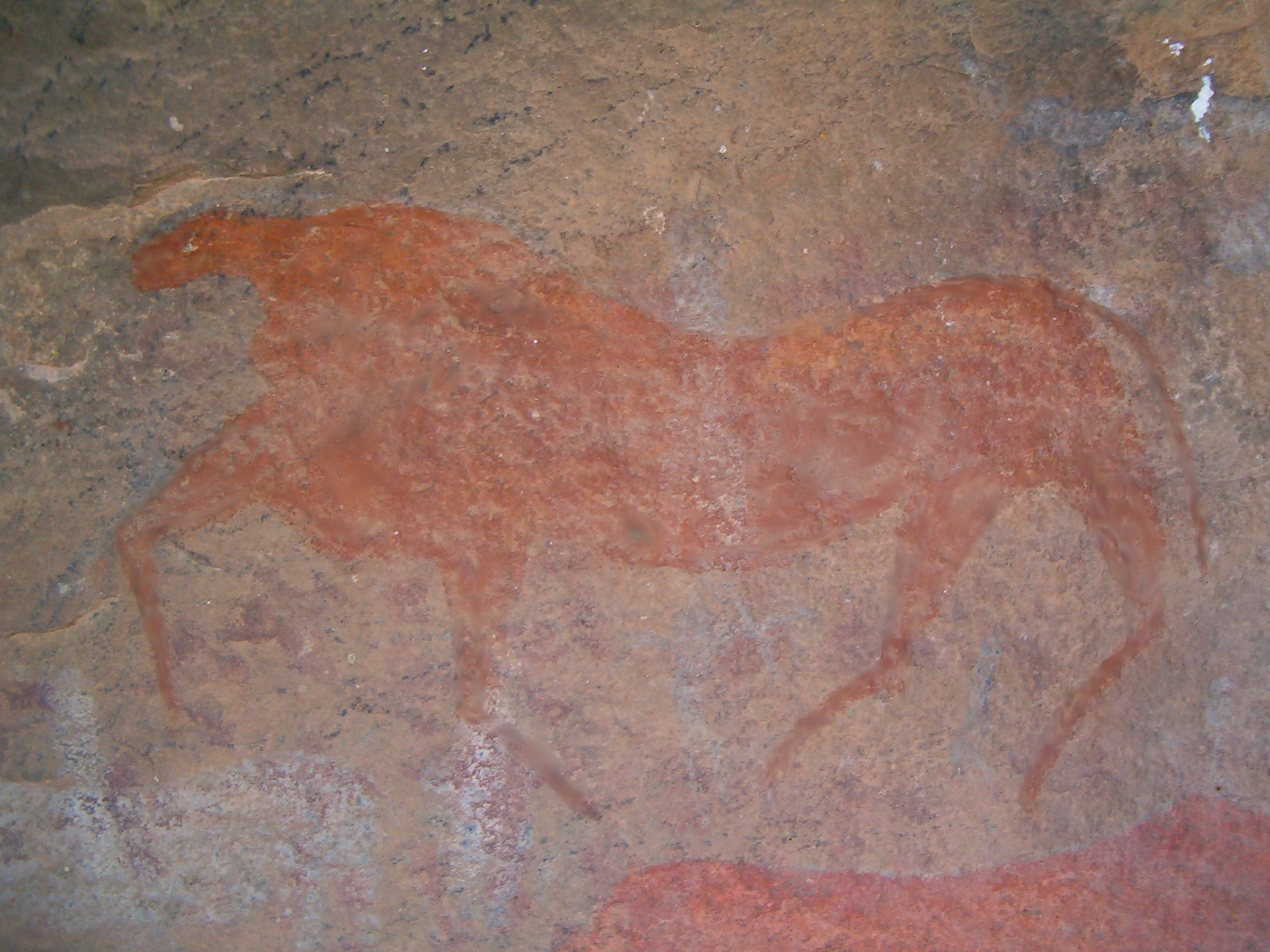 Bushman Paintings at Ganora