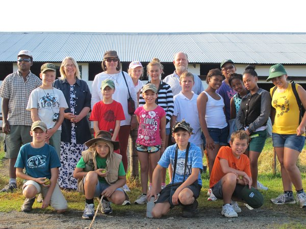 School Groups at Ganora Guestfarm 12