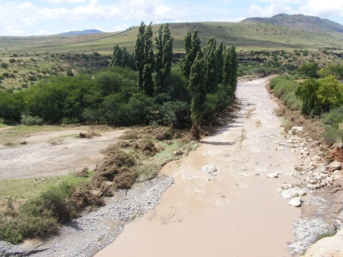 Floods at Ganora Guestfarm during 2011-17