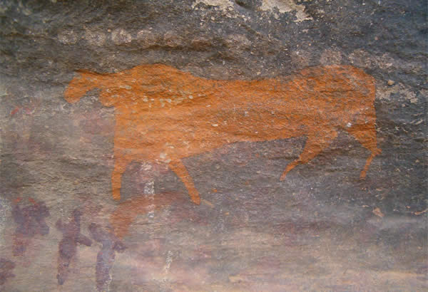 Bushman Art at Ganora Guestfarm