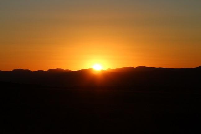Sunset at Ganora