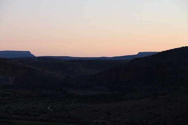 Sunset at Ganora Guestfarm