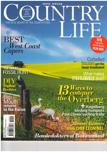 Country Life Jan 2015-Cover