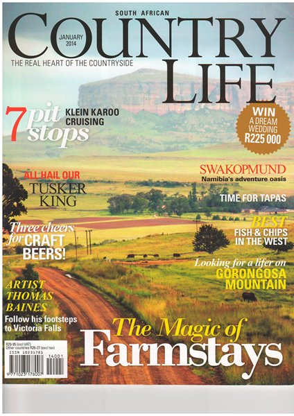 country life jan 2014 cover