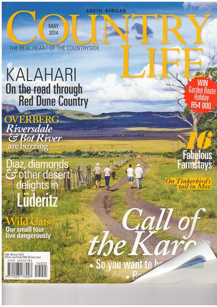 Country Life May 2014 cover