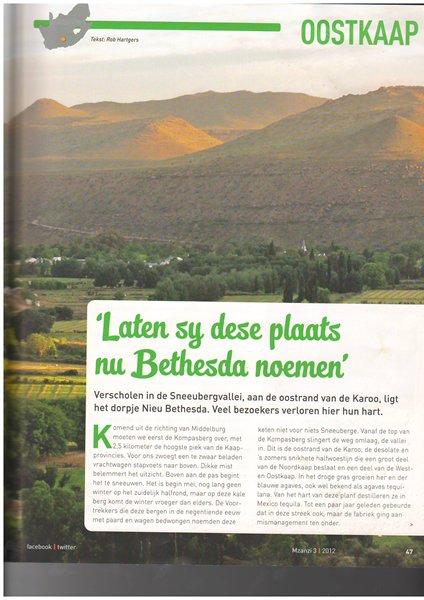 Mzanzi article3 - Nieu Bethesda