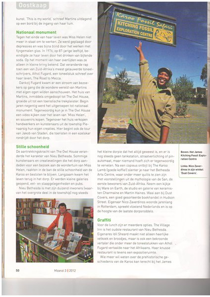 Mzanzi article 6 - Nieu Bethesda
